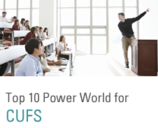 Top 10 Power World for CUFS